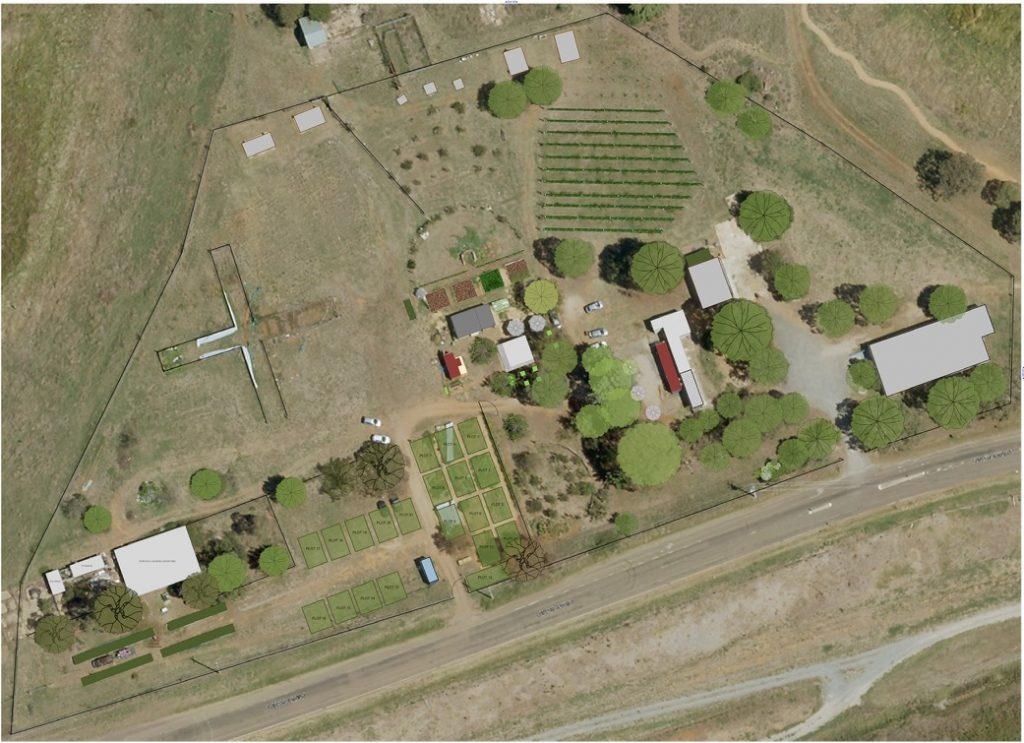 Aerial Map of the Farm